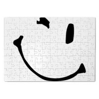 Magnetic puzzle Smiley 05