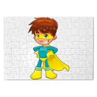 Magnetic puzzle Super Boy