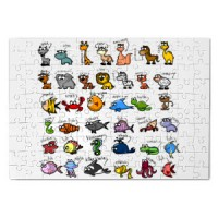 Magnetic puzzle Wild Animals