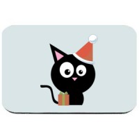 Mouse pad Black Pussy
