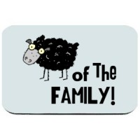 Mouse pad Black Sheep Of The Family