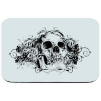 Mouse pad Skull 10
