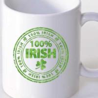 Mug 100% Irish