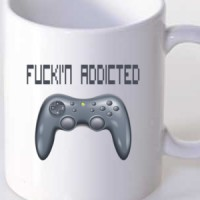 Mug Addicted To Games