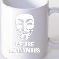 Mug Anonymous Mask