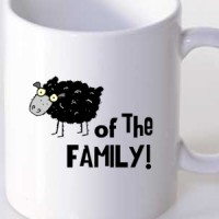 Mug Black Sheep Of The Family