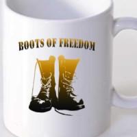 Mug Boots Of Freedom