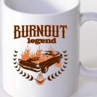 Mug Burnout Legend