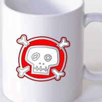 Mug Cartoon Skull