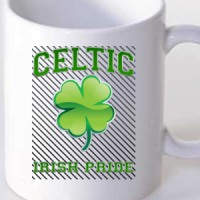 Mug Celtic Shamrock