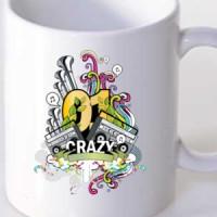 Mug Crazy Abstract Music