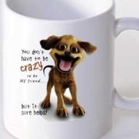 Mug Crazy Dog