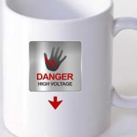 Mug Danger high voltage