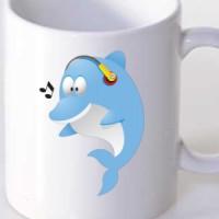 Mug Dolphin