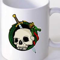 Mug Dragon and skul