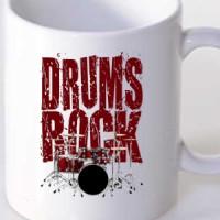 Mug Drums Rock Drums
