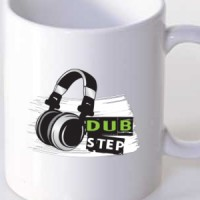 Mug Dubstep & Headphones