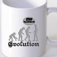 Mug Evolution | Evolution | Funny