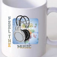 Mug Feel the music