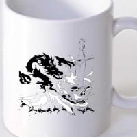 Mug Fire Dragon Tattoo