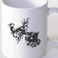 Mug Fire-breathing dragon