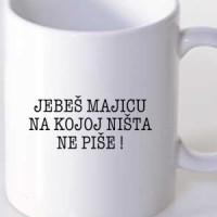 Mug Fuck A Shirt That Says Nothing