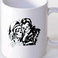 Mug Grease | Love | Skeleton