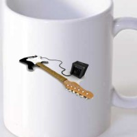 Mug Guitar And Amplifier