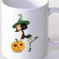 Mug Halloween Witch