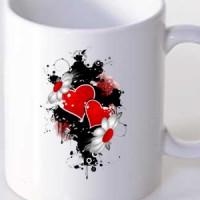 Mug Hearts And Flowers