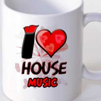 Mug I Love House Music | House | Music