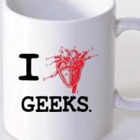 Mug I Love Nerds!