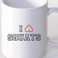 Mug I Love Squats