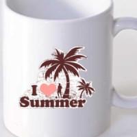 Mug I Love Summer