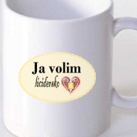 Mug I love licitar heart
