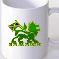 Mug Jamaica Lion