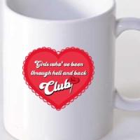 Mug Lace heart 1 by Jvncc