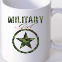 Mug Military Girl