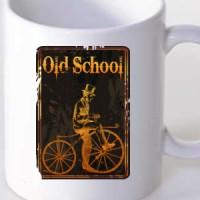Mug Old School Biker