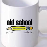 Mug Old School Print