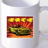 Mug Race Car
