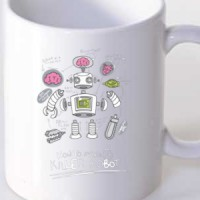Mug Robot Specialized For Killing