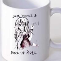 Mug Sex, Drugs And Rock N Roll