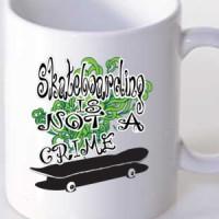 Mug Skateboarding Is Not A Crime