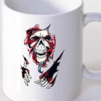 Mug Skull Through The Gap
