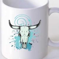 Mug Skull of a bull