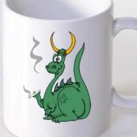 Mug Stoned Dragon