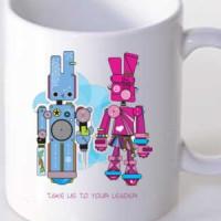 Mug Take Us To Your Leader