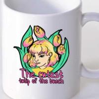 Mug The cutest tulip of the bunch