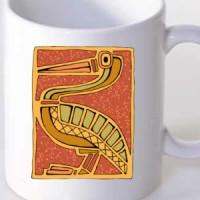 Mug Tribal Bird